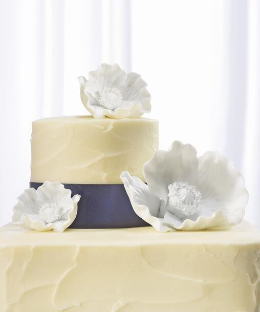 Cake Topper Papaveri in Porcellana Bisquit