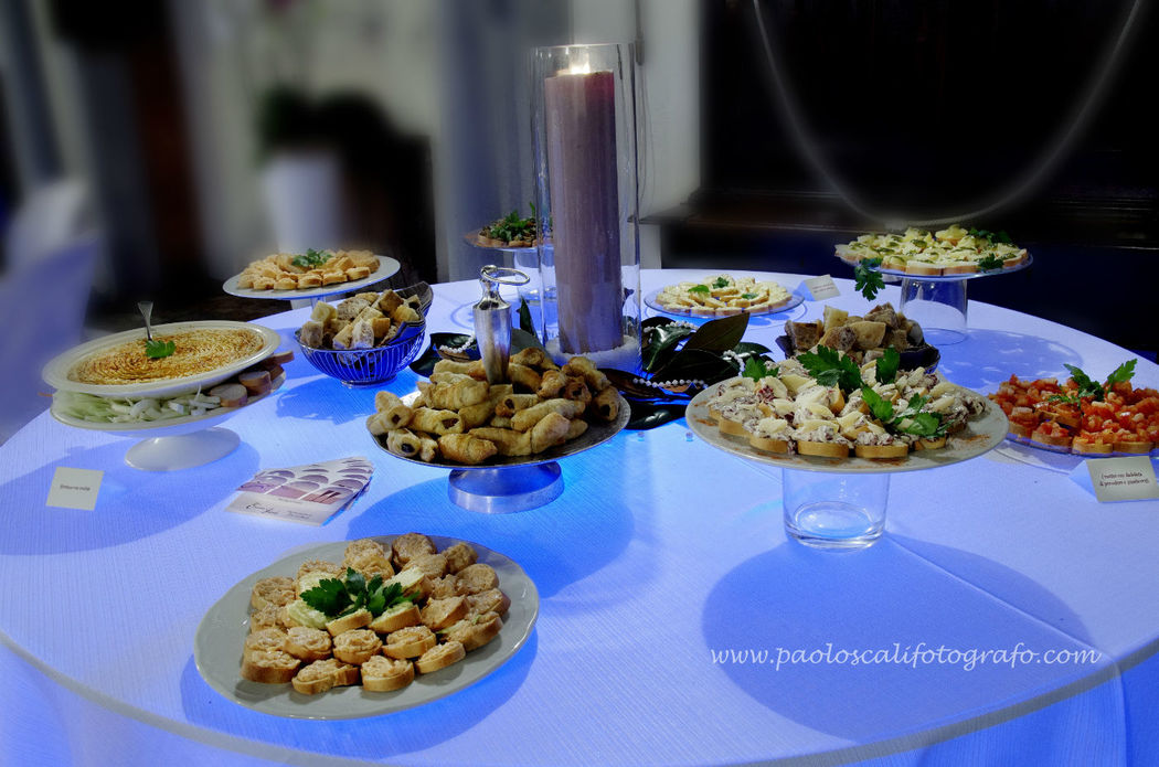 Appetizers and finger food - La Buona Tavola Catering&Banqueting Firenze