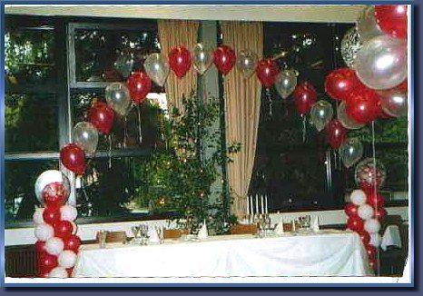 Beispiel: Ballondekoration, Foto: Ballon Boutique Heidelberg.