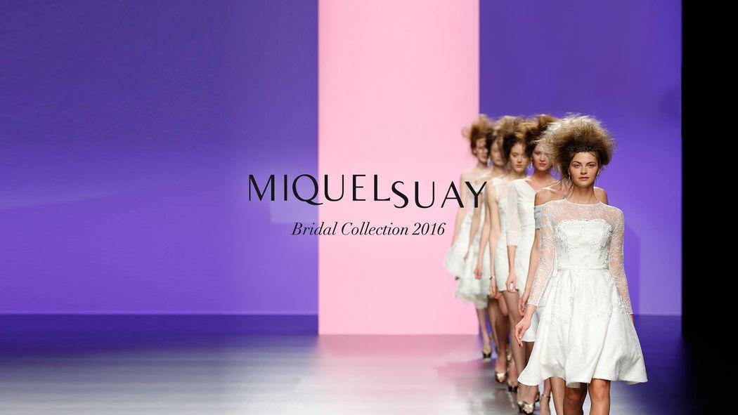 Miquel Suay Bridal Collection 2016