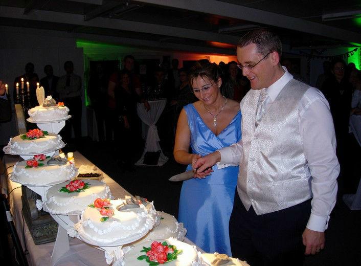 Beispiel: Hochzeitstorte, Foto: Weddingpoint.