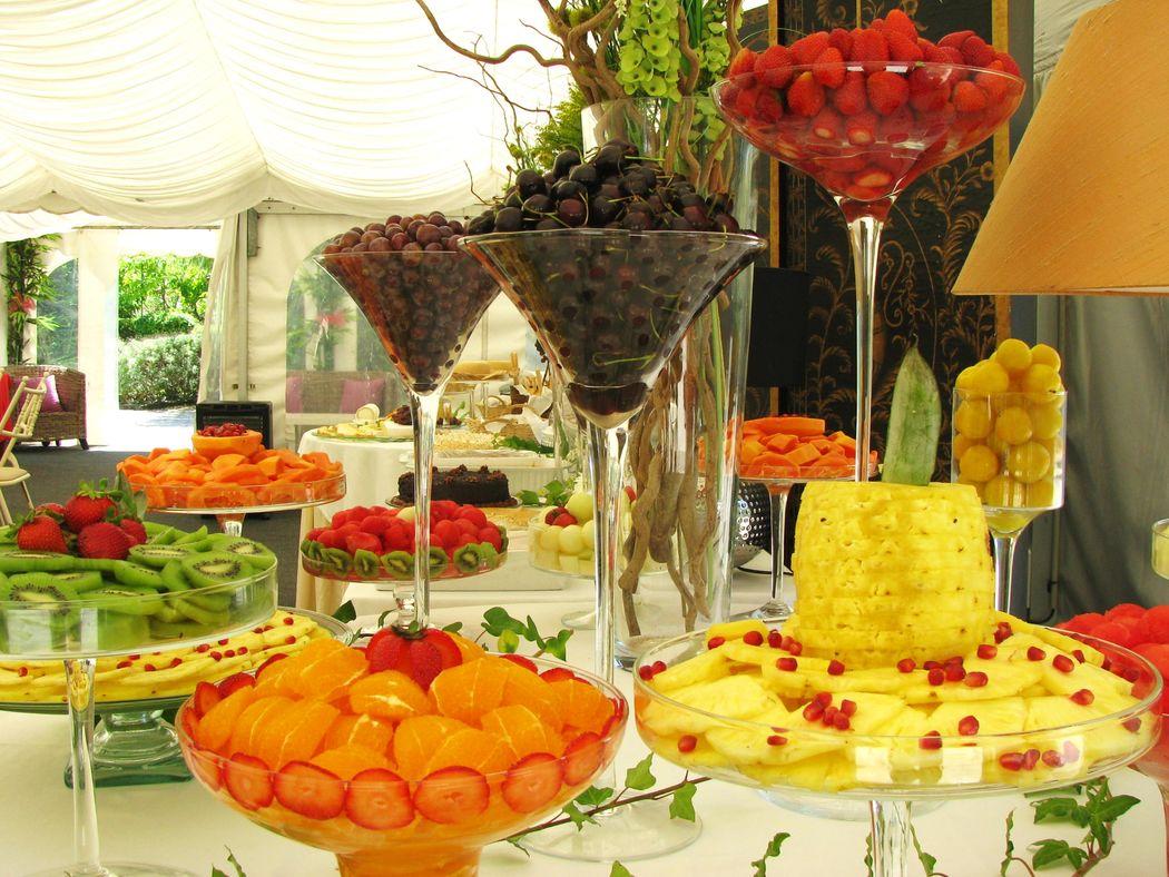 Mesa de Frutas