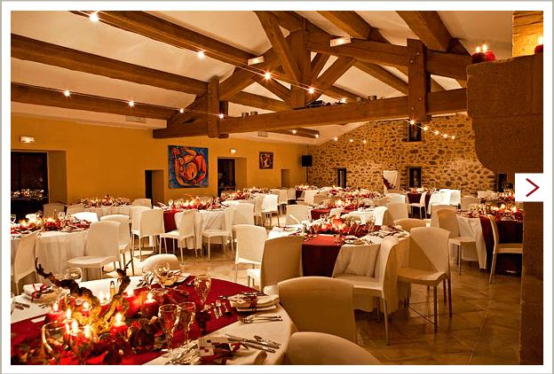 Salle de Réception - Château Mentone