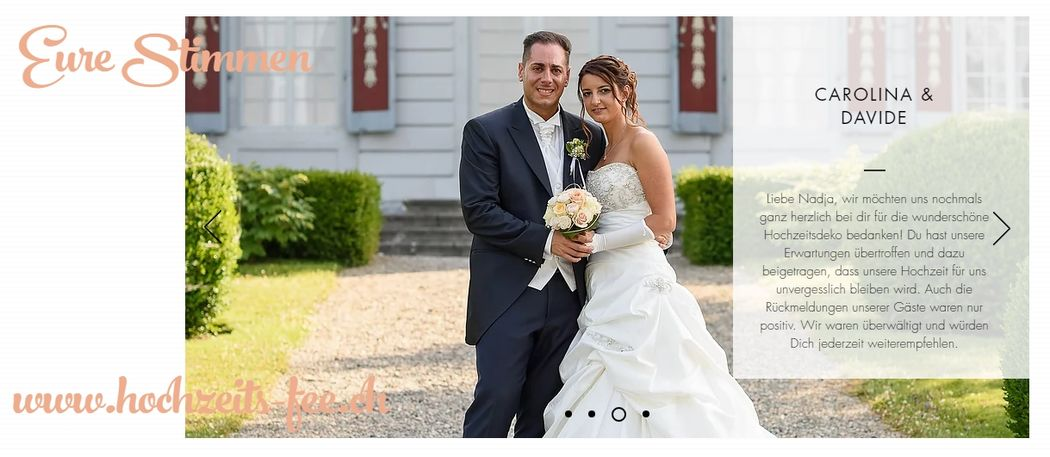 Kundenstimmen Carolina & Davide