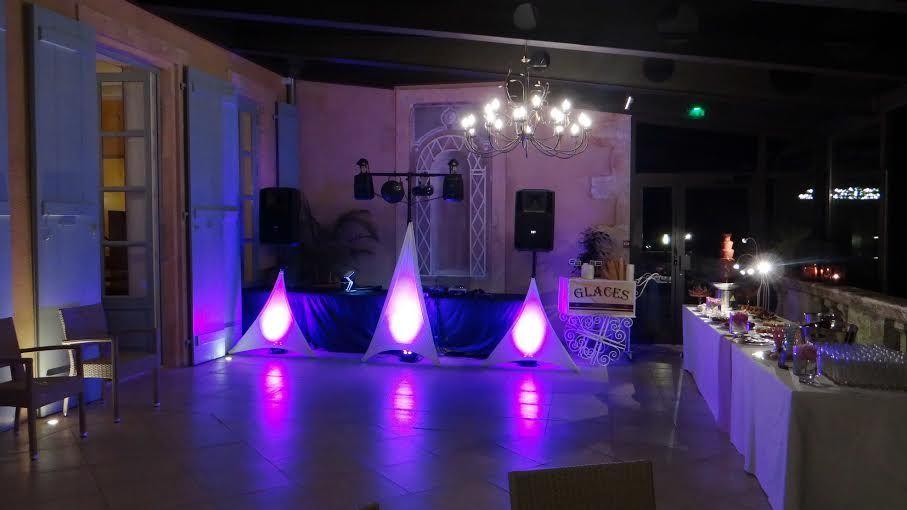 Prestation DJ et mise en lumière