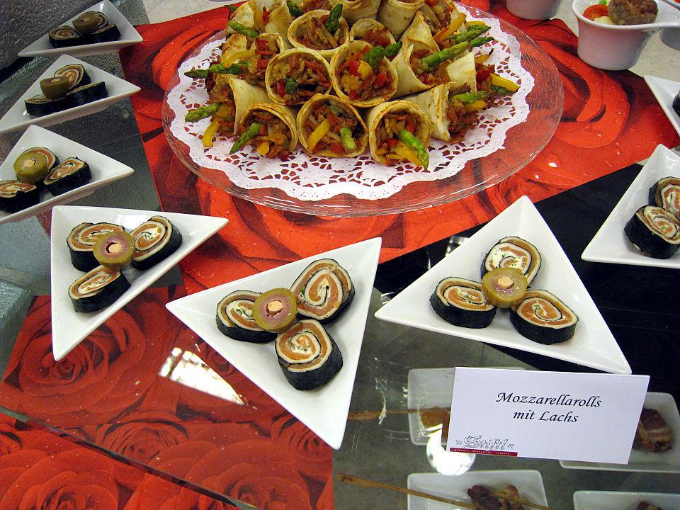 Beispiel: Kreative Buffets, Foto: Stiftl Catering und Events.