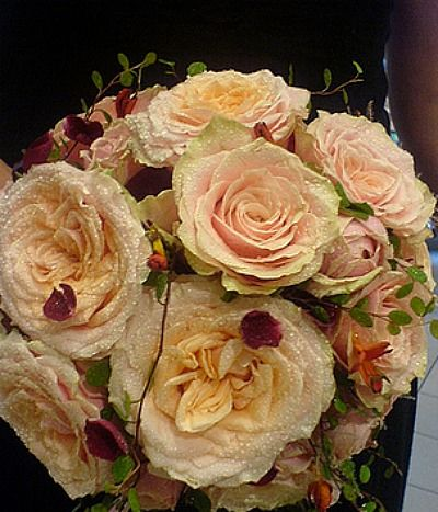 Beispiel: Brautstrauss, Foto: Blumen Piazza.