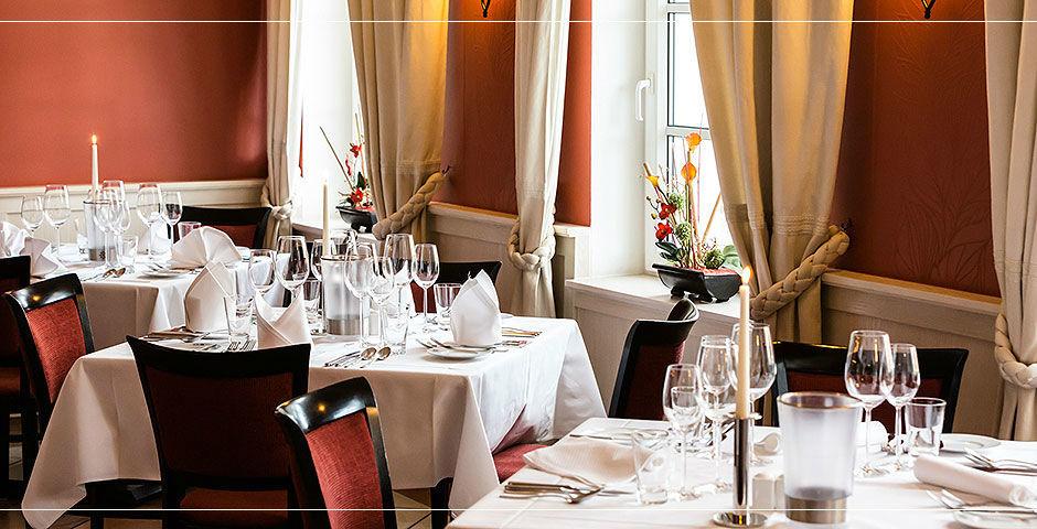 Beispiel: Restaurant, Foto: Landhaus Hadrys.