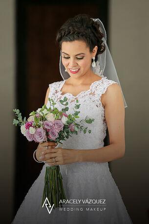 Aracely Vazquez Wedding Makeup