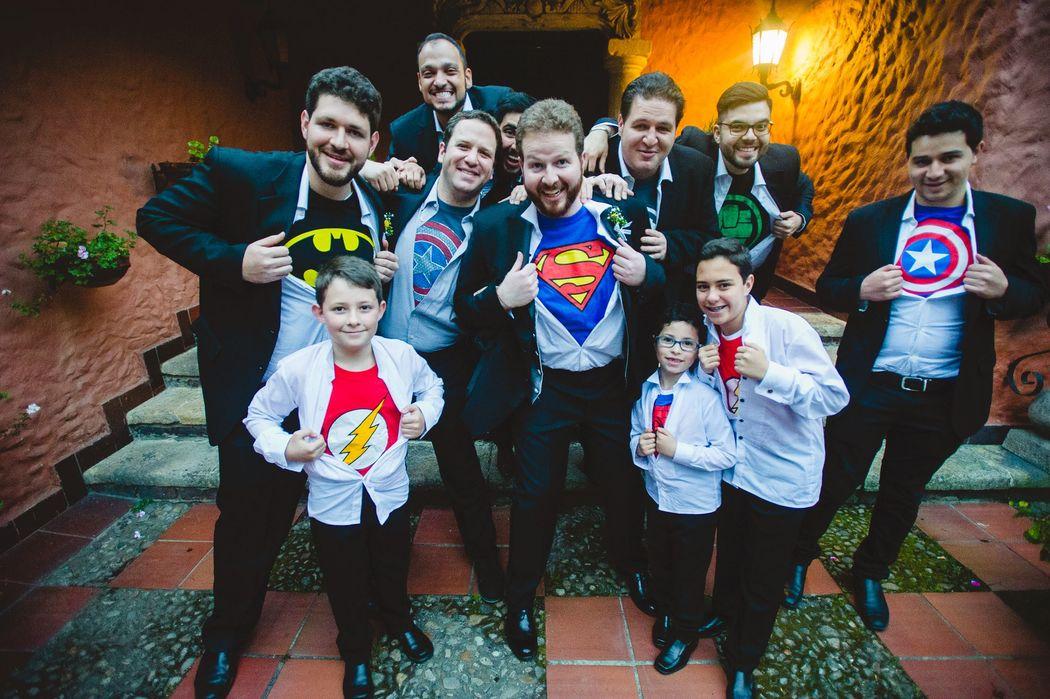 memento photo studios superheroes