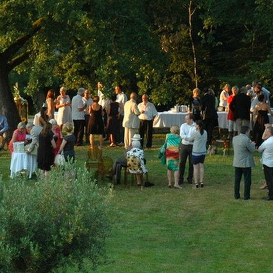 Réception au Castelet