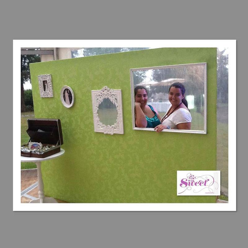 decoração photobooth