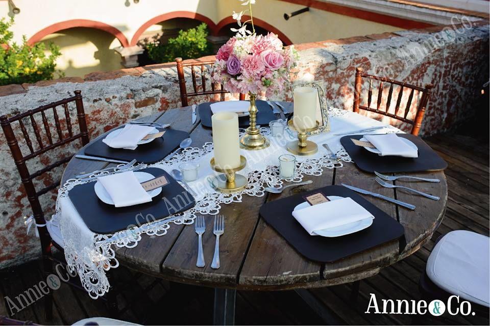 Annie & Co - Mobiliario para bodas