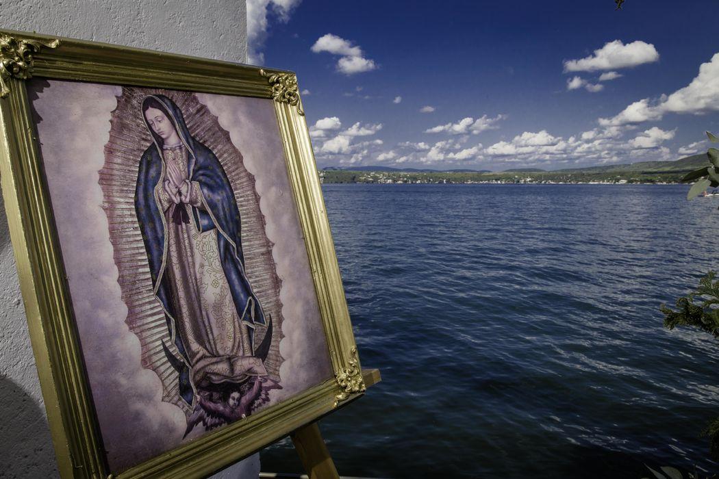 Capilla con vista al Lago de Tequesquitengo