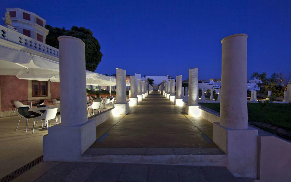 Colunas noite