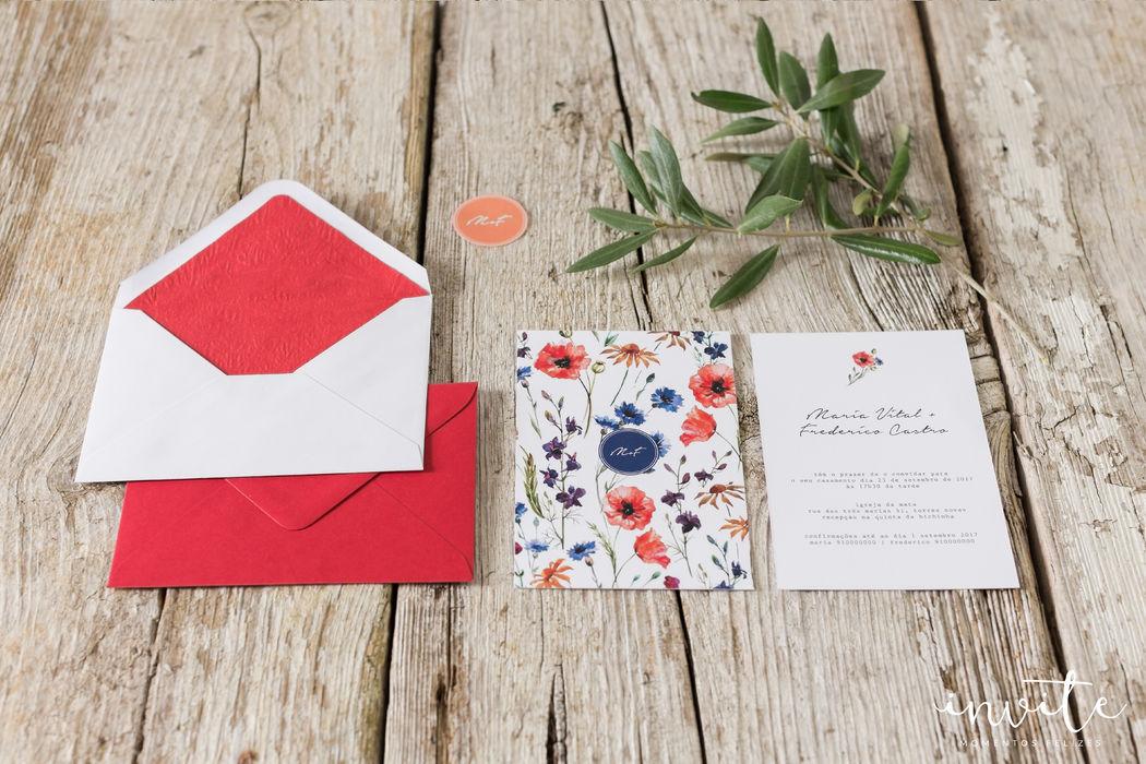 Convite Flower