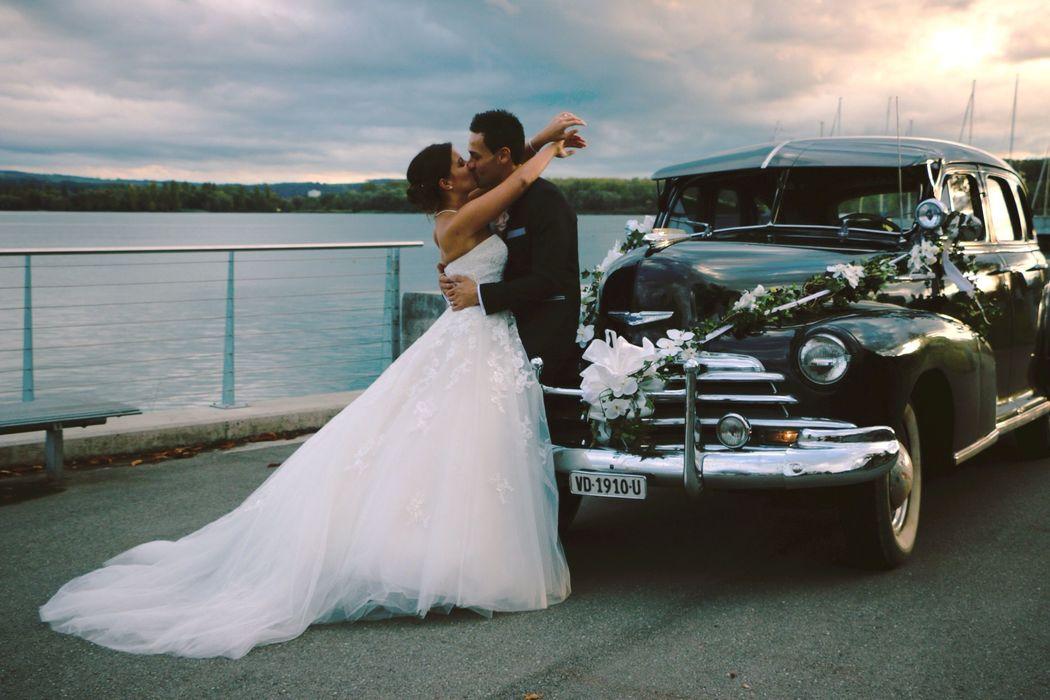 Mariage en bord de lac