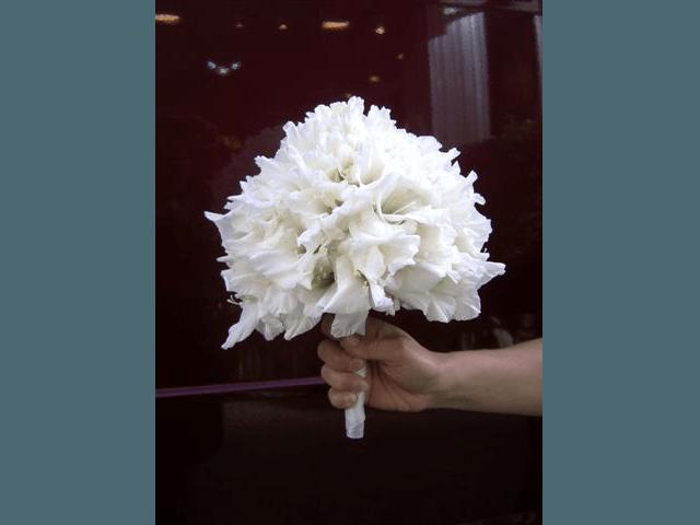 Beispiel: Eigene Kreationen, Foto: Blumenhandwerk Alexander Muhr.