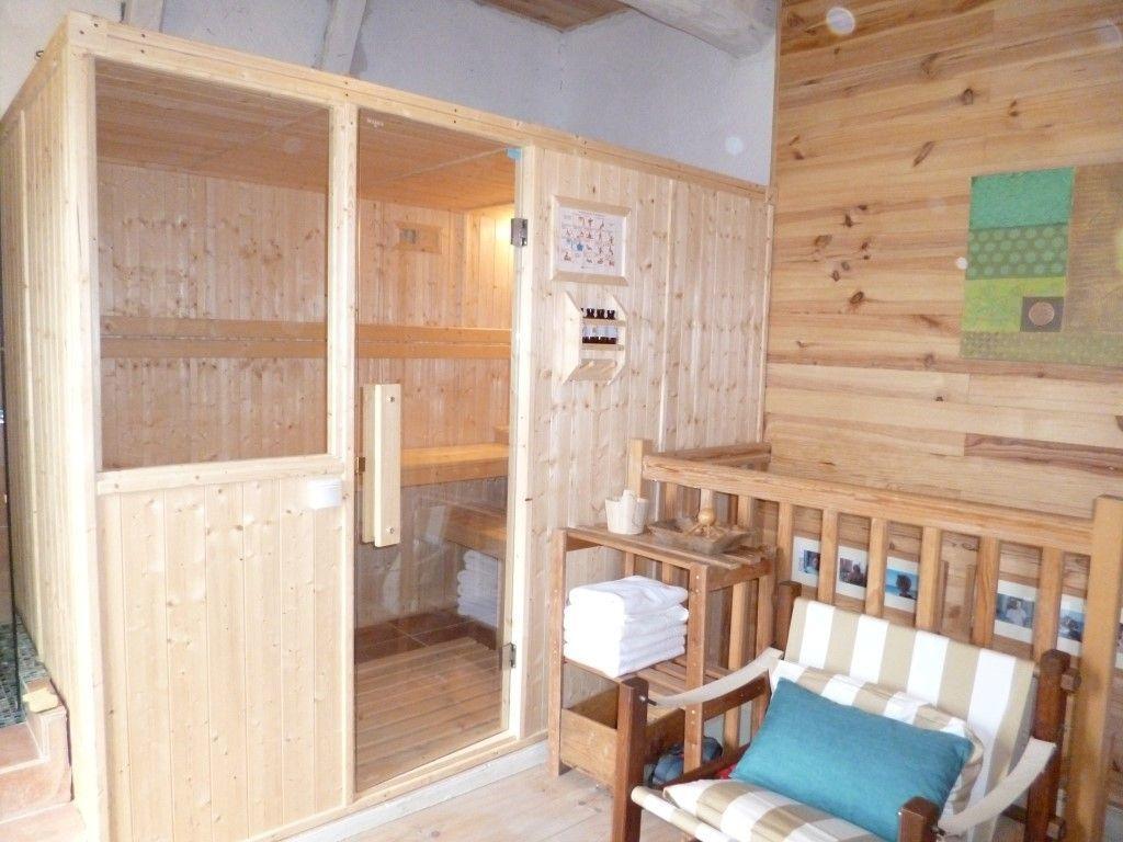 Sauna vue Pyrénées