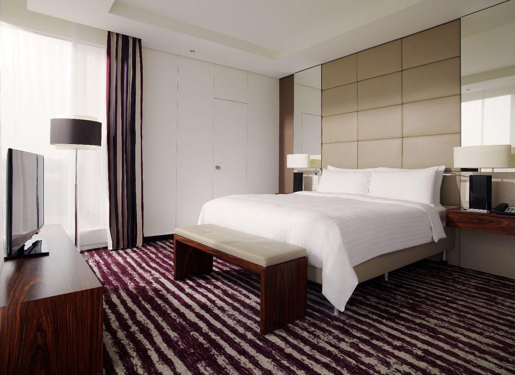 Gönnen Sie sich an Ihrem grossen Tag eine Übernachtung in unserer eleganten Panorama Suite.