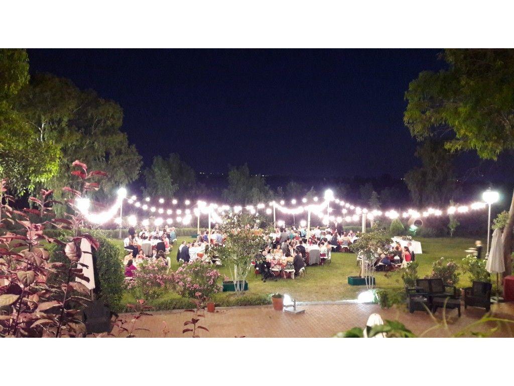 Guirnaldas Jardín Cena