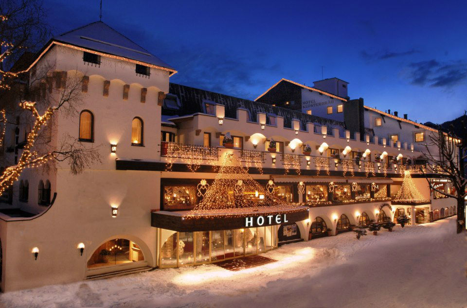 Beispiel: Hotel im Winter, Foto: Hotel & Spa Klosterbräu.