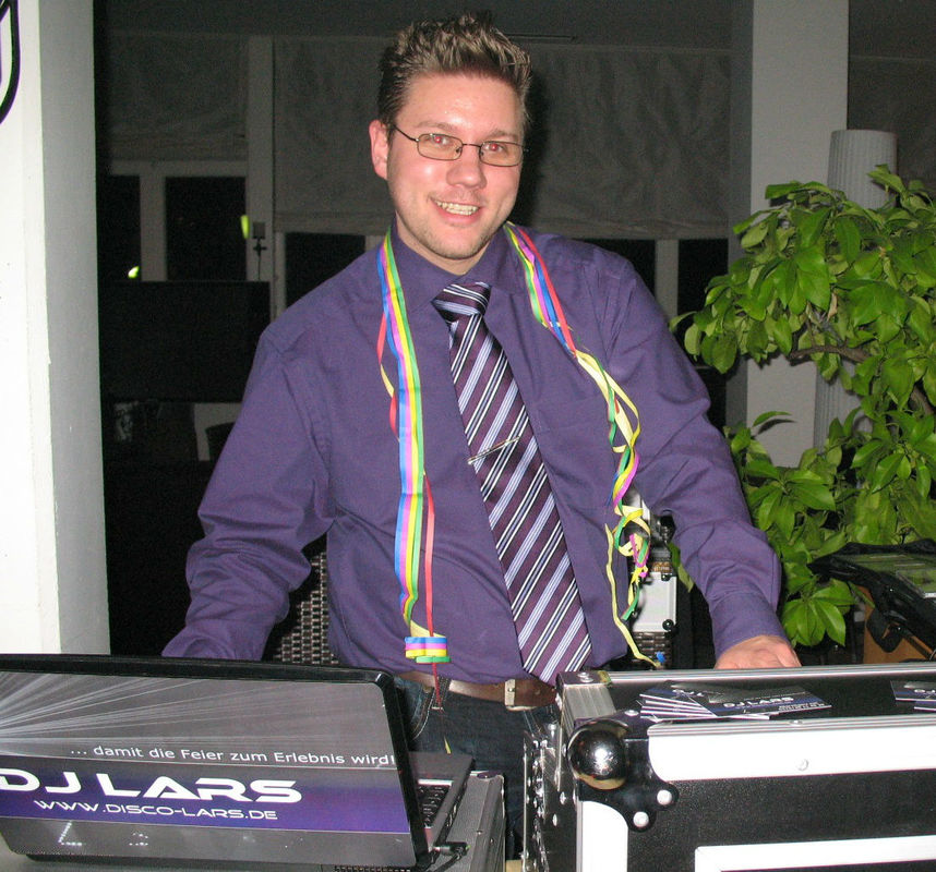 Beispiel: DJ Lars, Foto: DJ Lars.