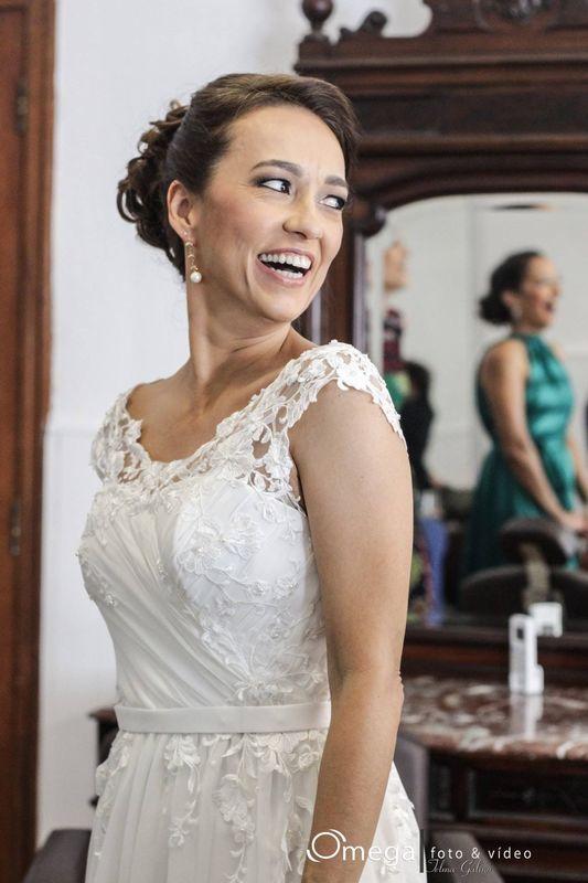 Claudia Mendes Makeup/foto: Omega Foto e Video