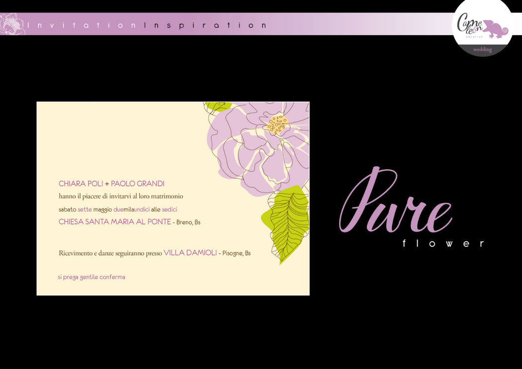 Invito Pure Flower