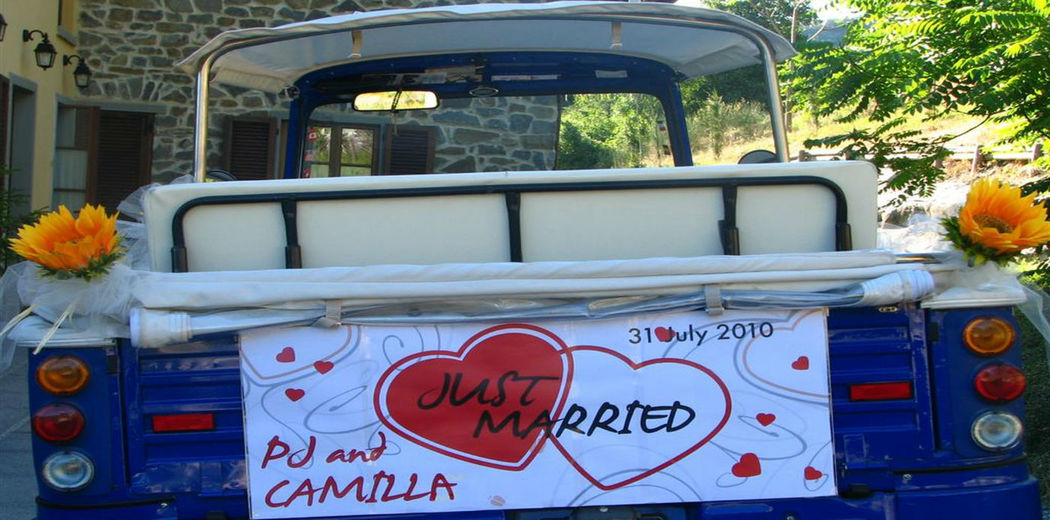 Ape da matrimonio! :-)