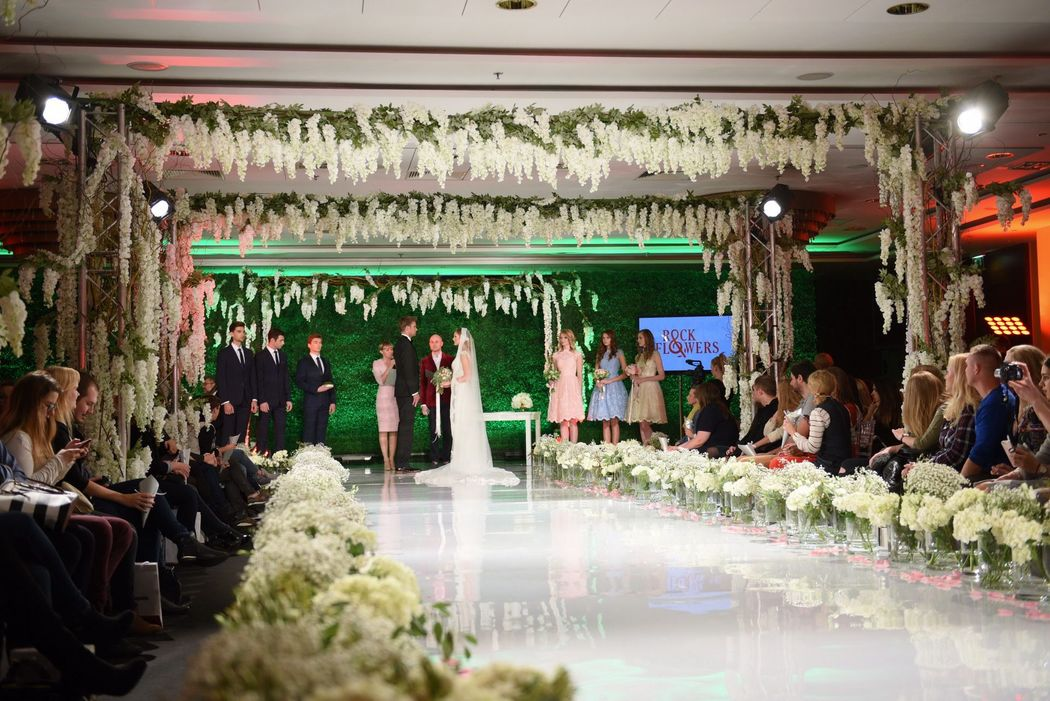 Scenografia - Targi WeddingShow 2016, Zdjęcia: Marcin Kmieciński