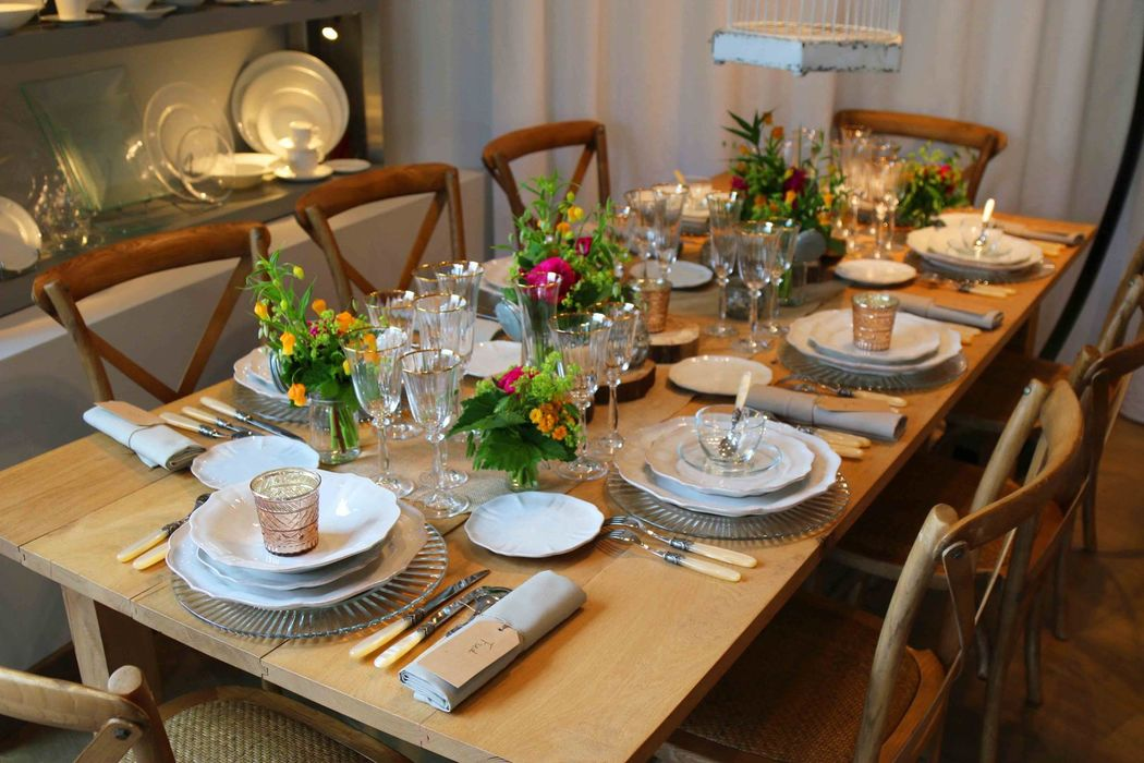 Diamonds Royal Events -  Table champêtre -Maison Options -Paris