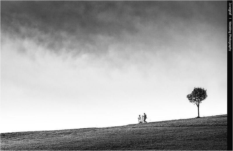 Beispiel: Fotokunst für Ihre Hochzeit, Foto: Janograf Wedding Photography.