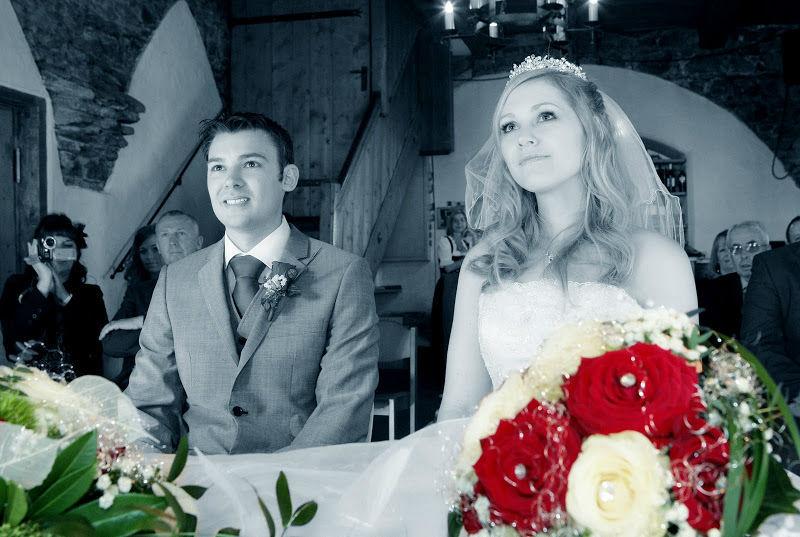 Beispiel: Brautpaar, Foto: Verwöhnhotel Vötters Sportkristall.