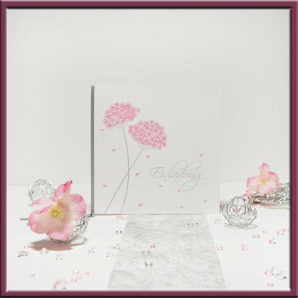 Beispiel: Schlichte Eleganz, Foto: Adam & Eva Hochzeitskarten.