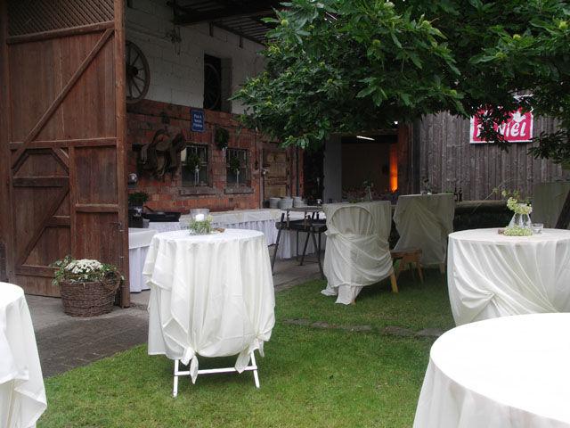Beispiel: Partymobiliar, Foto: Table-Service.