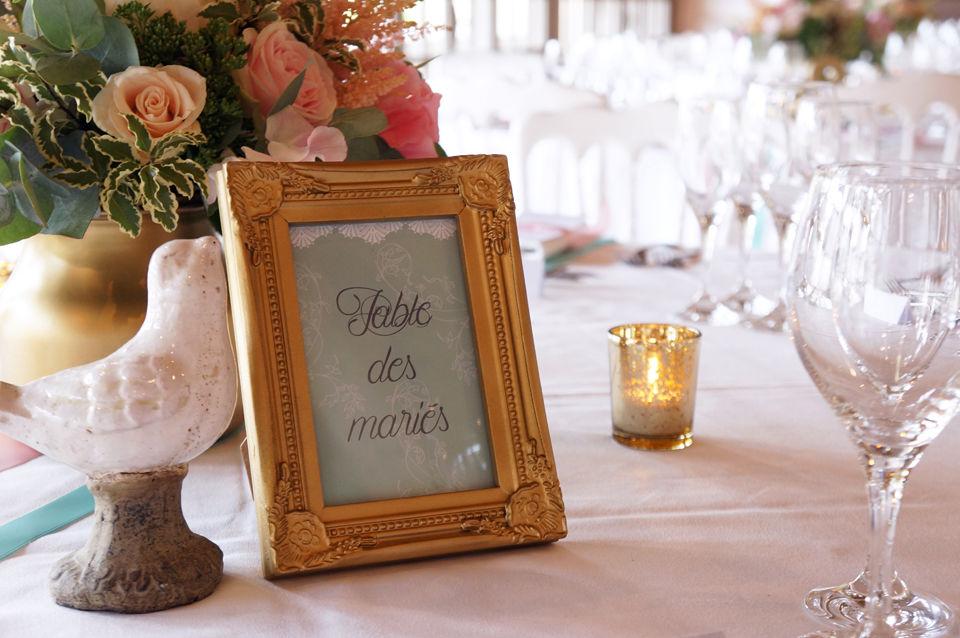 Mariage Romantique poudré  Crédits : Dessine-moi une étoile (Design et Papeterie )