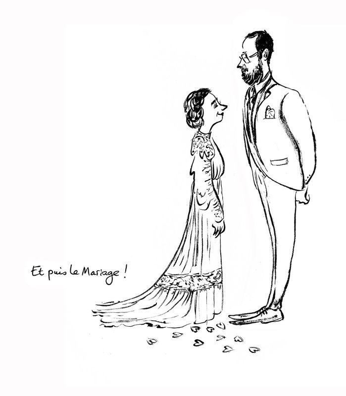 Croqueuse de mariage