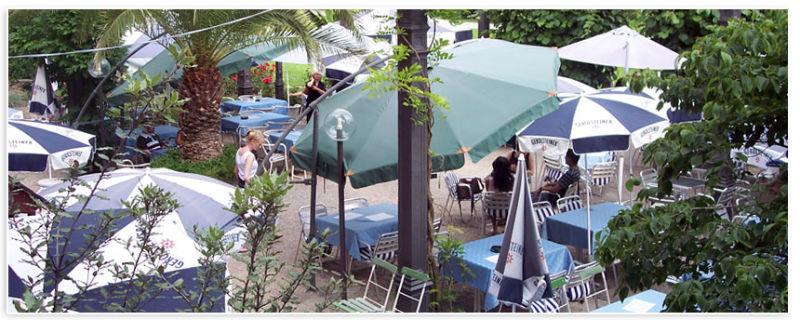 Beispiel: Terrasse, Foto: Badische Weinstuben.