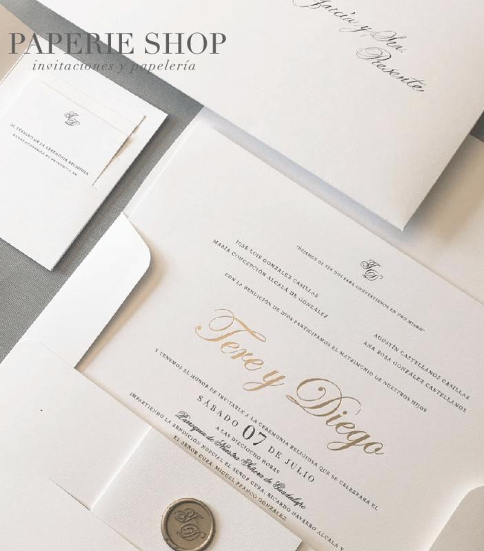 PAPERIE SHOP invitaciones
