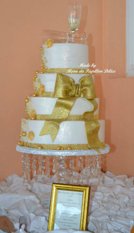 Le wedding Cake: Bisou du Papillon Délice