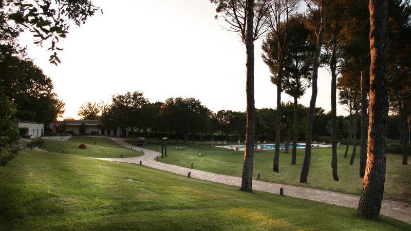 Il parco - Tenuta Monacelle