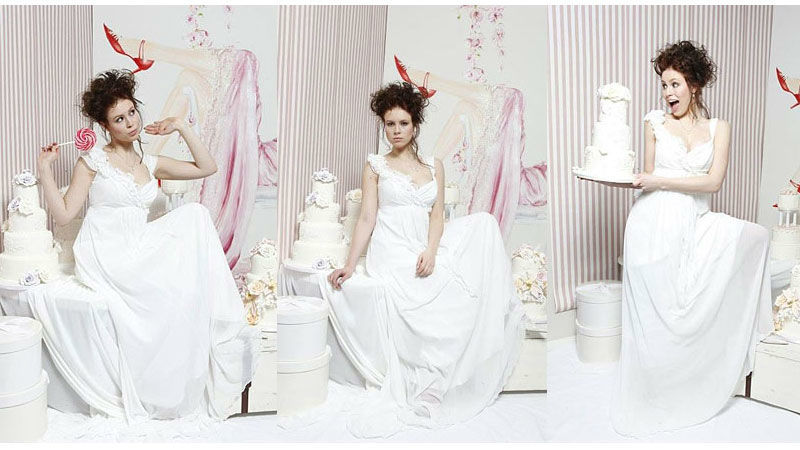 Beispiel: Für die Braut mit Stil, Foto: brautstyling-hamburg.de.