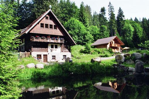 Beispiel: Vorderansicht Hof, Foto: Griesgethof.