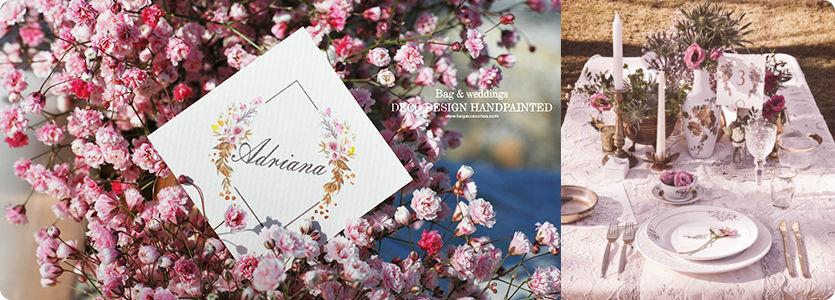 Linea Paperbag para bodas, meseros, seatting plan, name cards... en nuestra tienda on line.