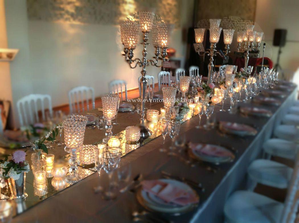 Evento Ideale: Tavolo imperiale