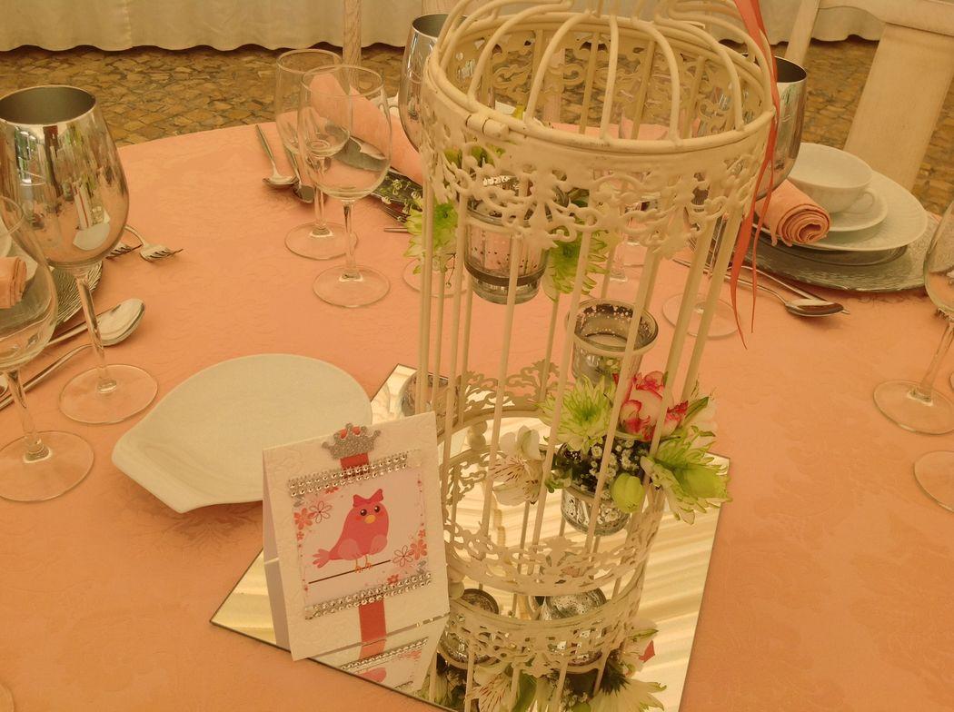 Decoradora mesa de convidados