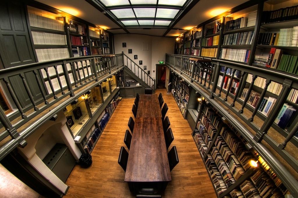 Bibliotheek, opgenomen in de lijst