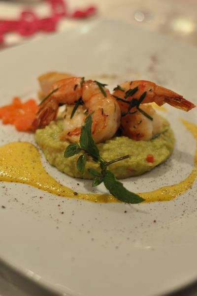Beispiel: Serviervorschlag, Foto: Hotel Eden - Restaurant garbo.