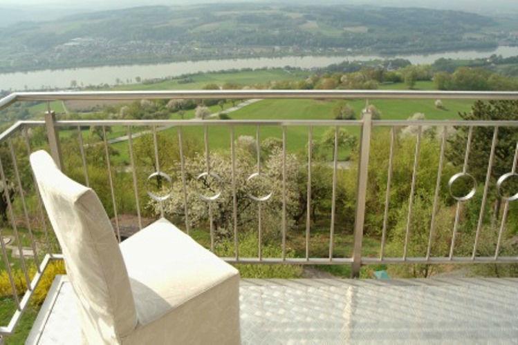 Beispiel: Balkon mit Panoramablick, Foto: Hotel Schachner.